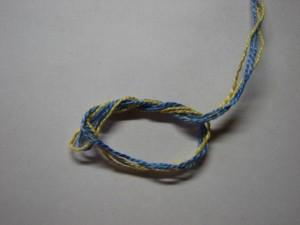 вязание сокса шаг 2