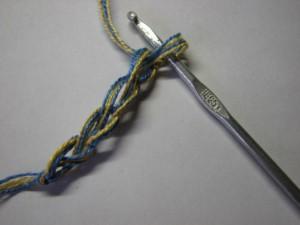 вязание сокса шаг 7
