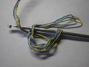 вязание сокса шаг 8