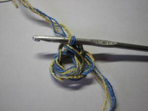 вязание сокса шаг 9